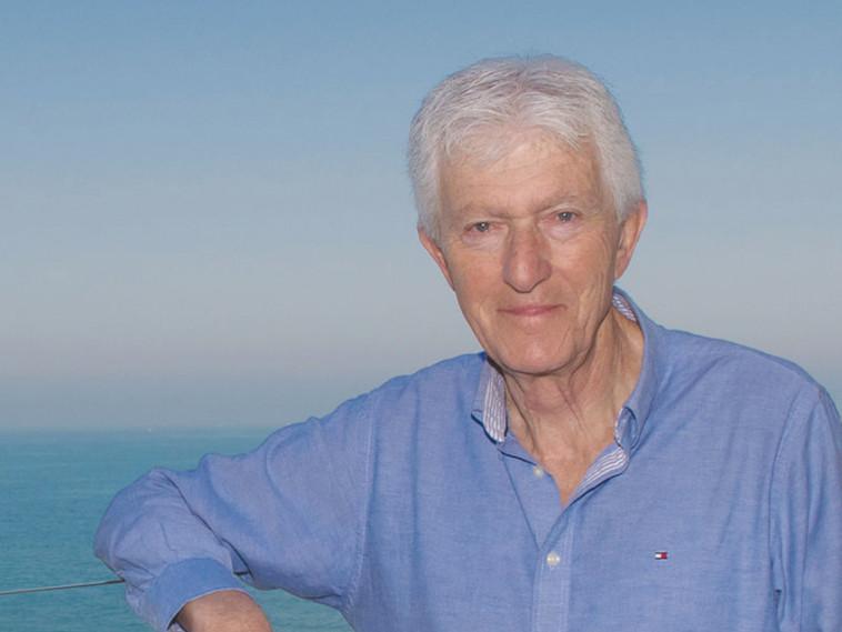 פרופ' מוטי רביד, לשעבר מנהל בית החולים מעייני הישועה (צילום: אריאל לינסון)
