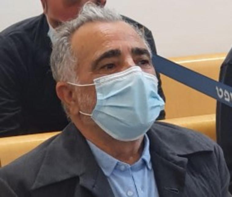 משה איבגי בבית המשפט (צילום: שלומי גבאי)