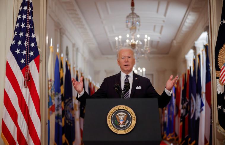 ג'ו ביידן (צילום: REUTERS/Tom Brenner)