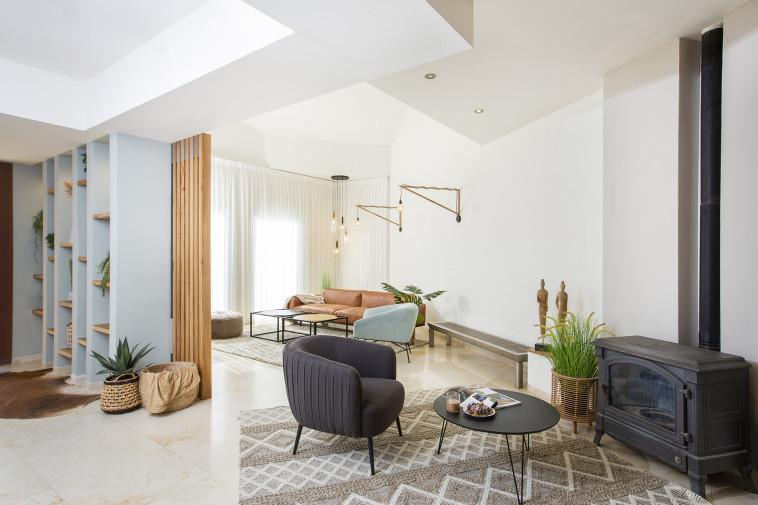 בית משפחת יעקב עיצוב OVS (צילום: עידן גור)