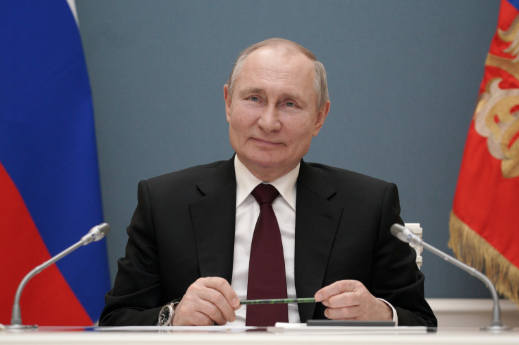 ולדימיר פוטין (צילום: Sputnik/Alexei Druzhinin/Kremlin via REUTERS)