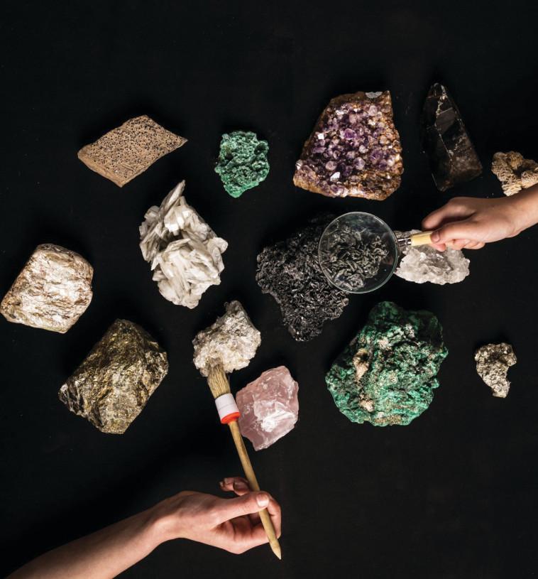 אוצרות האדמה, מוזיאון המדע ירושלים (צילום: יונתן בן חיים)