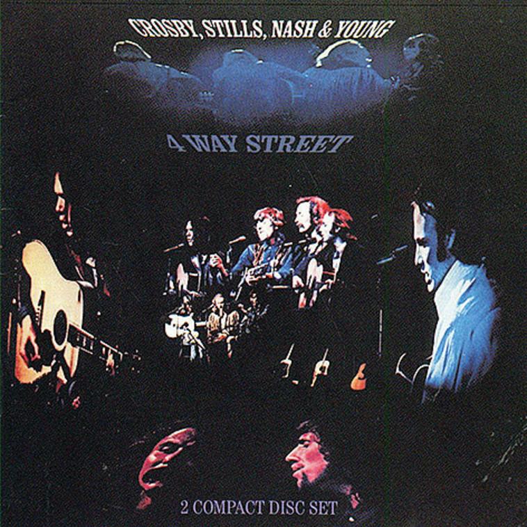 Crosby, Stills, Nash & Young, 4 Way Street (צילום: עטיפת אלבום)