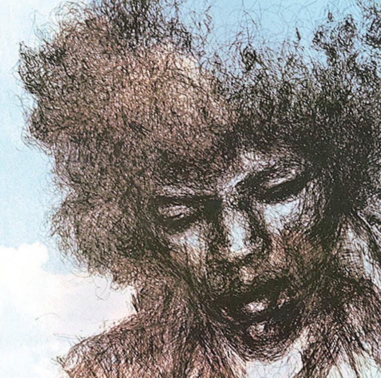 Jimi Hendrix, The Cry of Love (צילום: עטיפת אלבום)