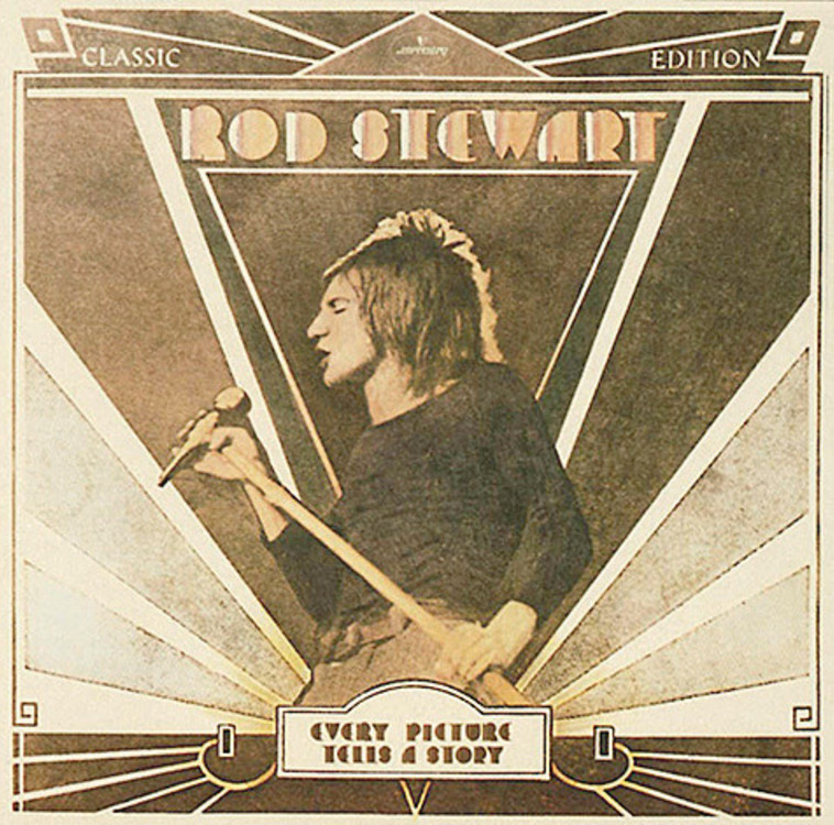 Rod Stewart, Every Picture Tells A Story (צילום: עטיפת אלבום)