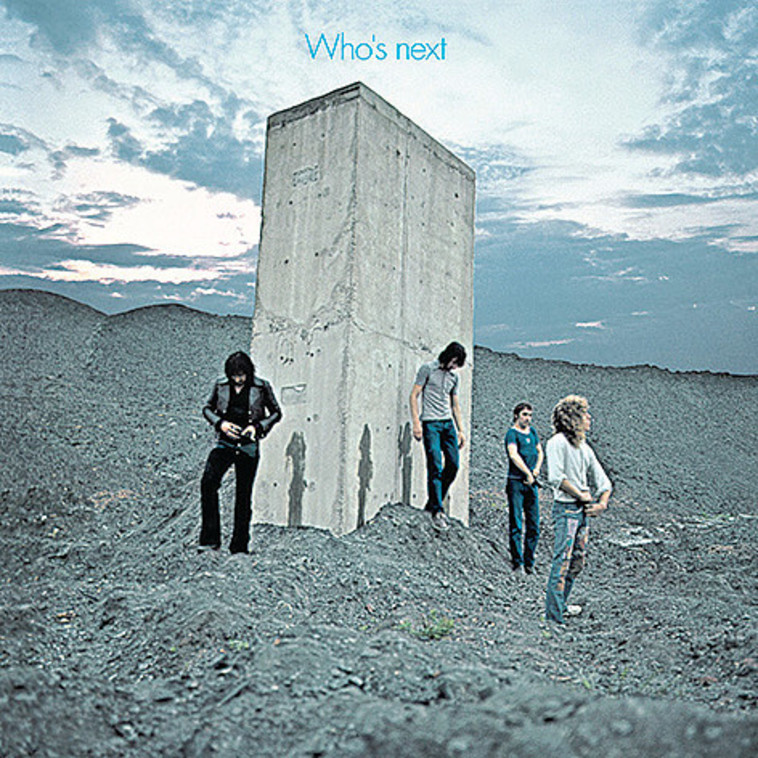 The Who, Who's next (צילום: עטיפת אלבום)