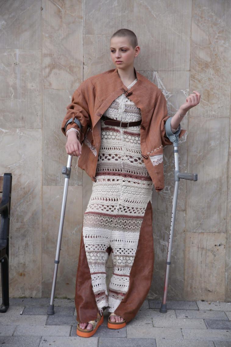 טבע נאות ושנקר שבוע האופנה קורנית (צילום: נוי ערקובי)