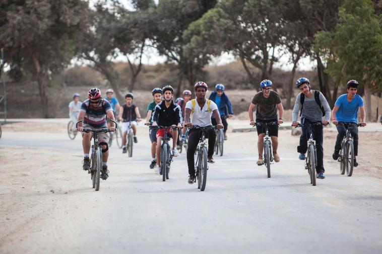 טיולי אופניים בירוחם  (צילום: אור אלכסנברג)