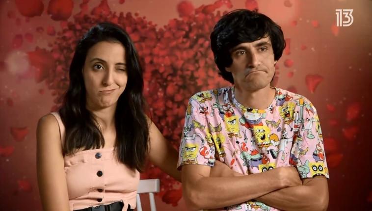 מני ממטרה וזוגתו (צילום: צילום מסך ערוץ 13)
