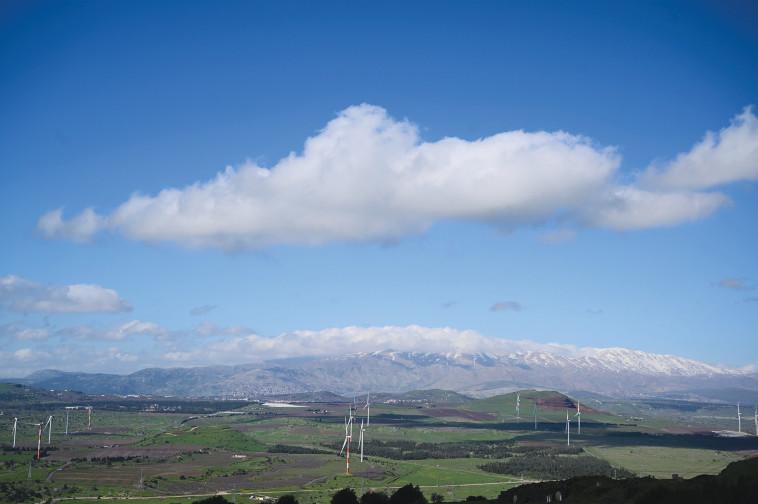 נוף רמת הגולן סמוך לגבול סוריה, ארכיון (צילום: מיכאל גלעדי, פלאש 90)