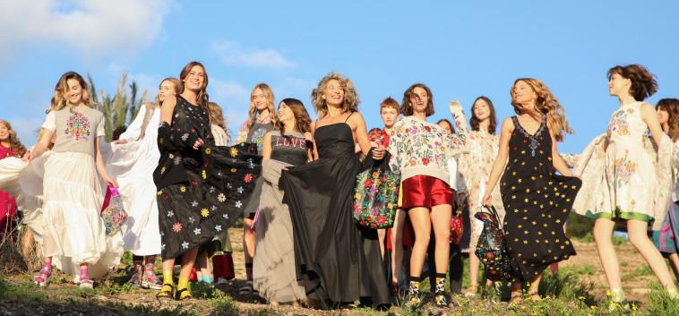 טובל'ה בשבוע האופנה (צילום: עדי לידור)