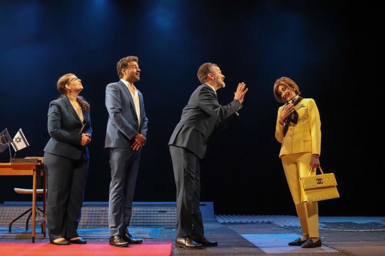 אדוה עדני מתוך ההצגה החדשה ''דרך השלום'' של תיאטרון באר שבע (צילום: סהר רקין באדיבות תיאטרון באר שבע)