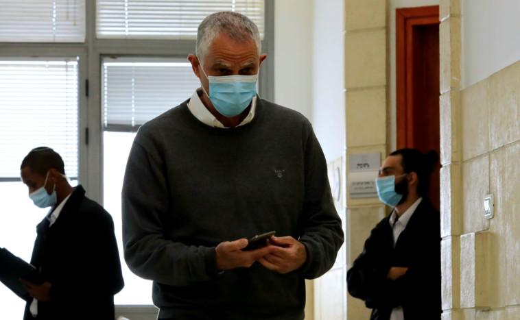 נוני מוזס בבית המשפט (צילום: פול אורן בן חקון)