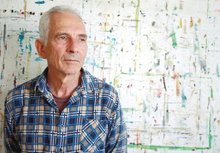 מיכאל קובנר, בנו של הסופר ומנהיג הפרטיזנים אבא קובנר (צילום: מירי צחי)