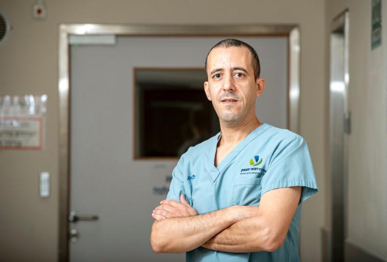 מאהר איברהים שידליק משןאה (צילום: דוברות בית חולים העמק)