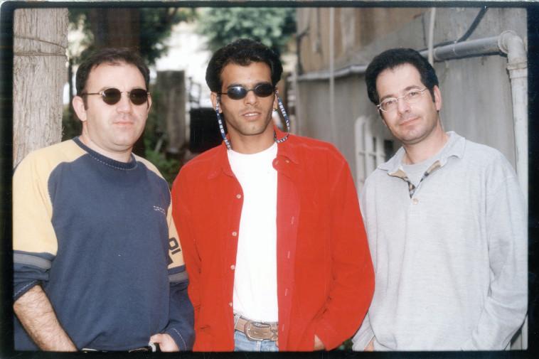 אייל גולן עם אתניקס, 1997 (צילום: יוסי אלוני)