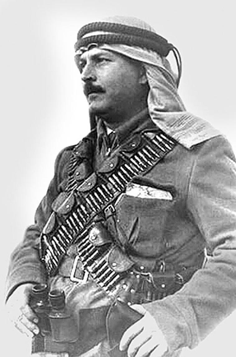 ניצחון גדול בנבי דניאל. עבד אל-קאדר אל-חוסייני (צילום: מתוך ויקיפדיה)