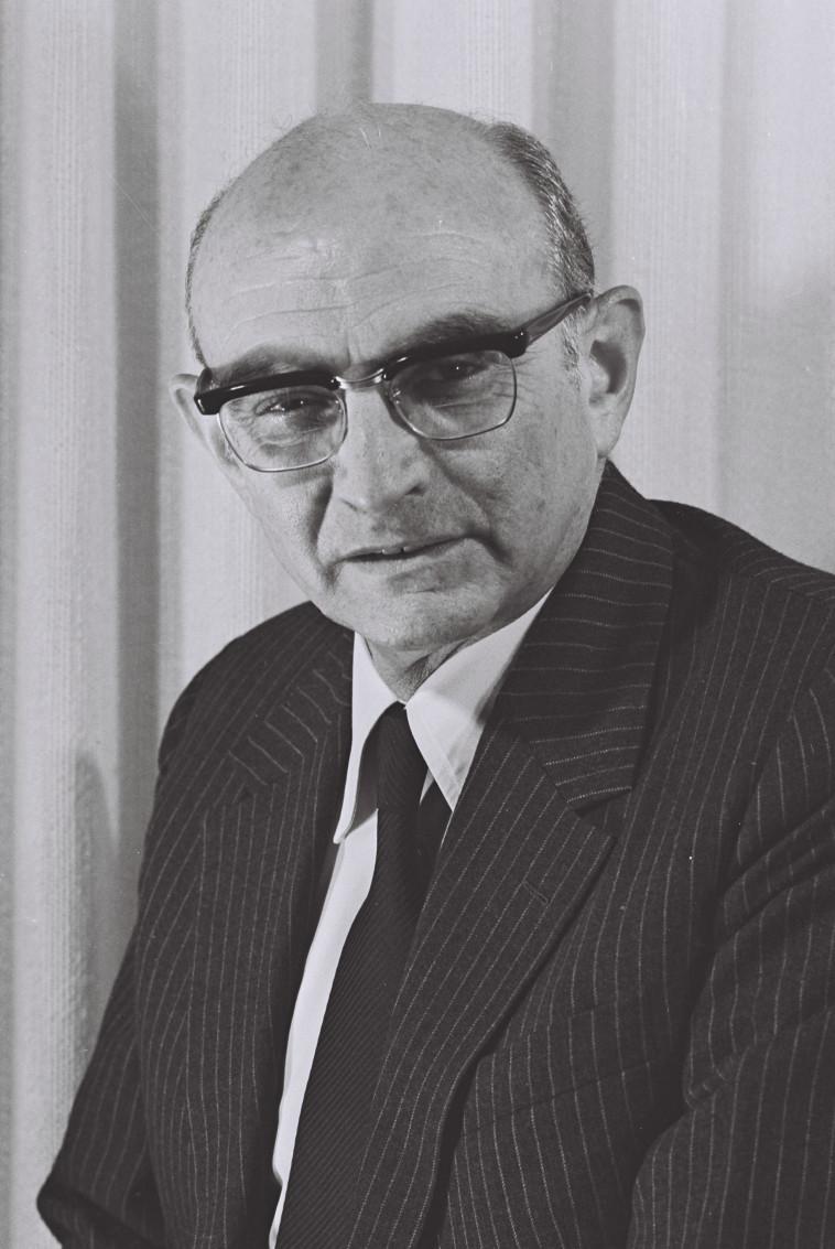 גדעון האוזנר, כיהן כיועץ המשפטי לממשלה בתקופת משפט אייכמן (צילום: יעקב סער, לע''מ)
