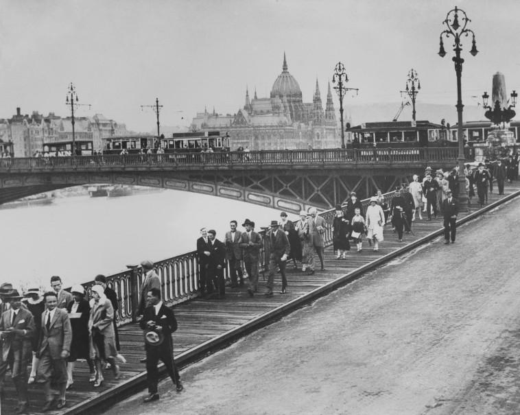 בודפשט בשנות ה-30 (צילום: Hulton Archive.GettyImages)