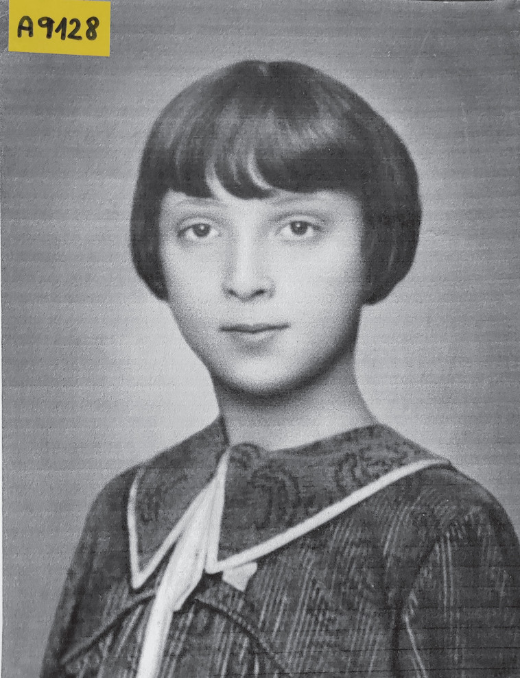 רבקל'ה הצעירה (צילום: אלבום משפחתי)