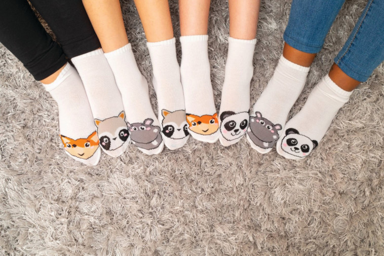 קולקציית גרבי ילדים של המותג פוליז (צילום: שי פיינשטיין)