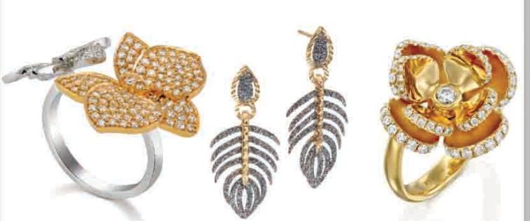 מימין - פדני - 16,880 שקל, הבורסה לתכשיטים – 1,428 שקל, יהלומי פוזיילוב – 23,600 שקל (צילום: יח''צ,אורי לבני)