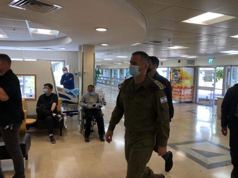 כוכבי מגיע לבית החולים (צילום: ללא)