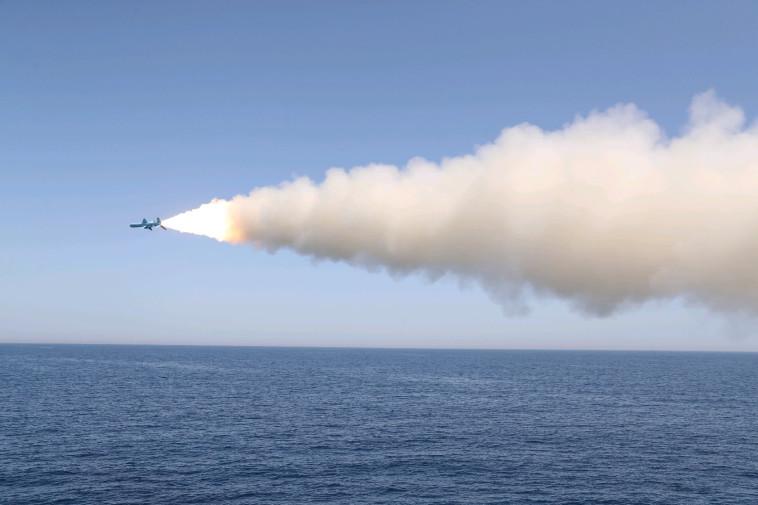 טיל שיוט איראני (צילום: רויטרס)