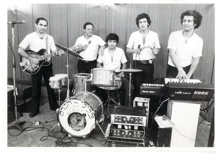 להקת צלילי הכרם (צילום: ראובן קסטרו)