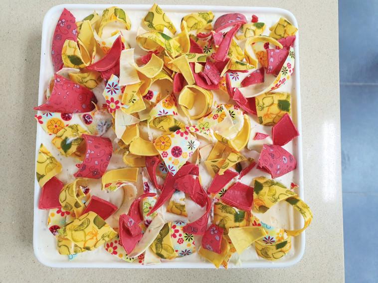 עוגת בסיקוויטים של אסטלה (צילום: אסטלה - כיתת אומן לקונדיטוריה)