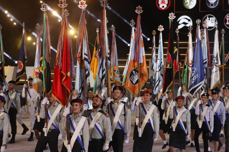 הטקס בהר הרצל, יום העצמאות ה-73 (צילום: יונתן זינדל, פלאש 90)