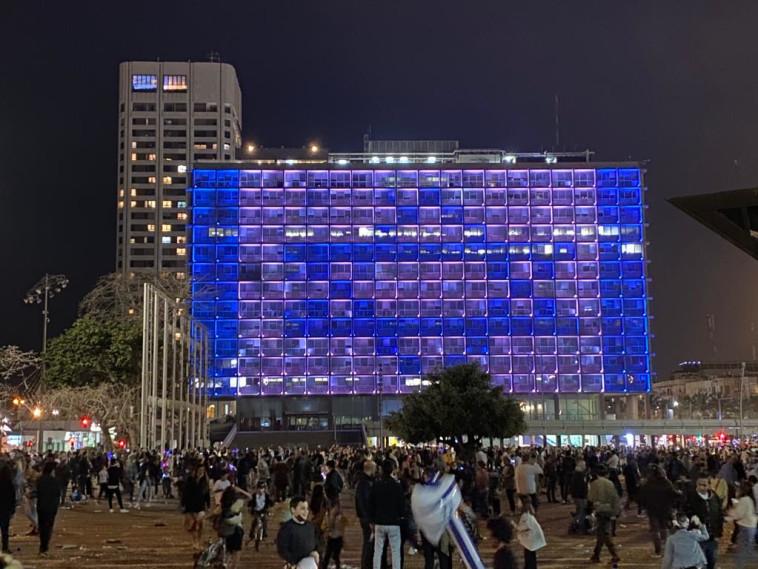 יום העצמאות ה-73 בתל אביב (צילום: אבשלום ששוני)