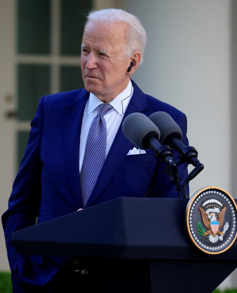נשיא ארצות הברית, ג'ו ביידן (צילום: REUTERS/Tom Brenner)