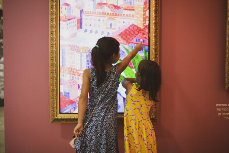 התערוכה ''אגדות אמיתיות'' במוזיאון בת ים לאמנות (צילום: שירז גרינבאום)