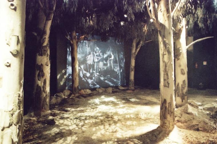 תערוכה בבית הפלמ''ח (צילום: יפעת פריד)
