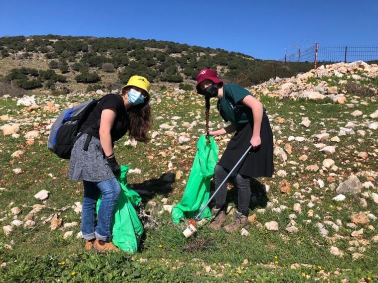 מיזם ''ניקיון המיליון'', שמטרתו לנקות את השטחים הפתוחים ברחבי הארץ (צילום: יחצ)