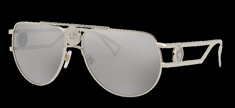 משקפי שמש לגברים, ורסאצ'ה X מאלומה. מחיר: 1049 שקלים (צילום: יח''צ)