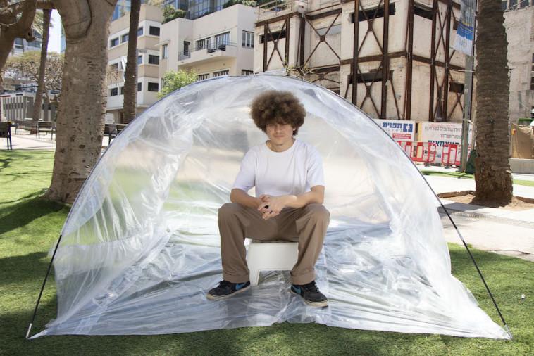 ''אוהל שקוף'' (צילום: שירה חיאט)