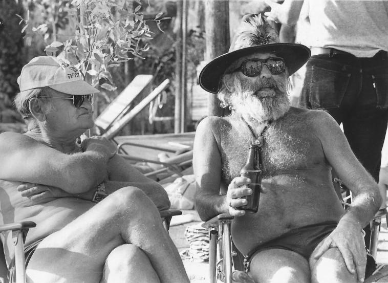 רפי נלסון וראובן אלוני (צילום: נתן זהבי)