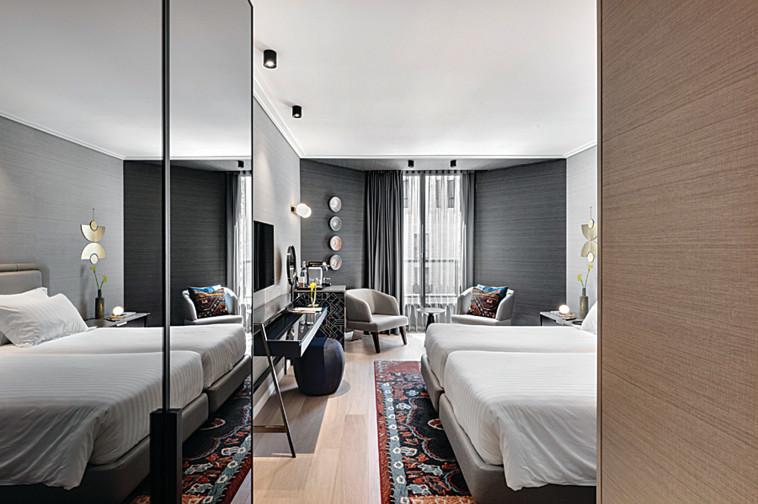 חדרים חדשים במלון ענבל (צילום: עודד סמדר)