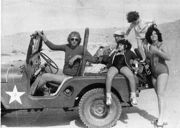 הנשיא נבון ומשפחתו בביקור פרידה (צילום: נתן זהבי)