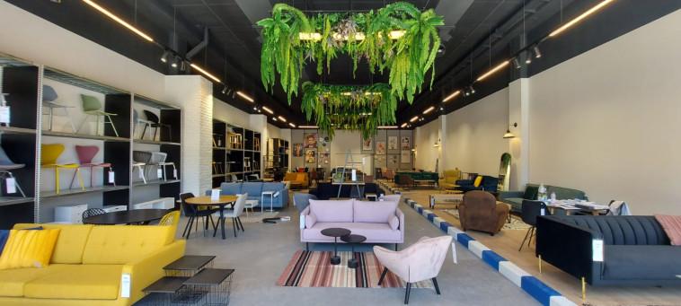 אולם התצוגה של URBAN במתחם redesign (צילום: יח''צ)