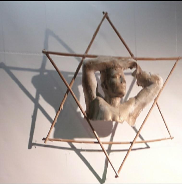 האומנות של ינאי גליקמן (צילום: פרטי)
