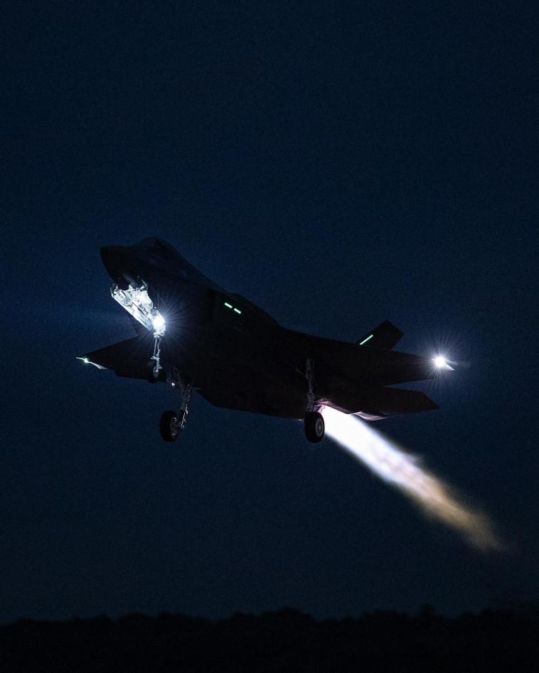 מטוס ''אדיר'' F-35 (צילום: לוקהיד מרטין)