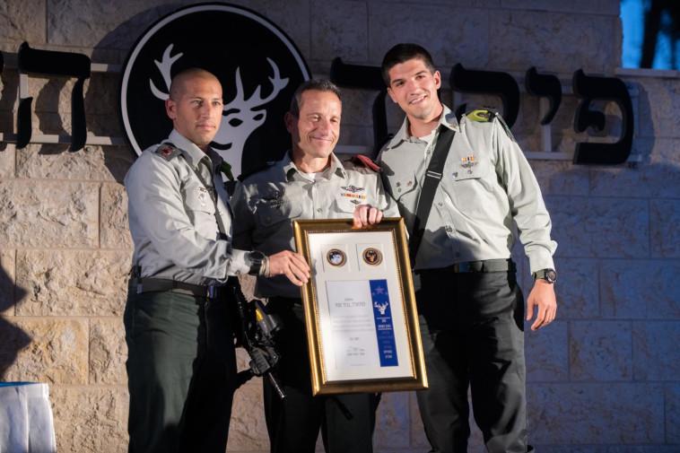 טקס הענקת פרס ''כוכב הצפון'' (צילום: דובר צה''ל)