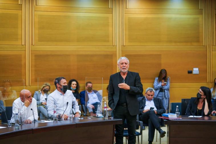 מאיר כהן בועדה המסדרת  (צילום: דוברות הכנסת, נועם מושקוביץ)