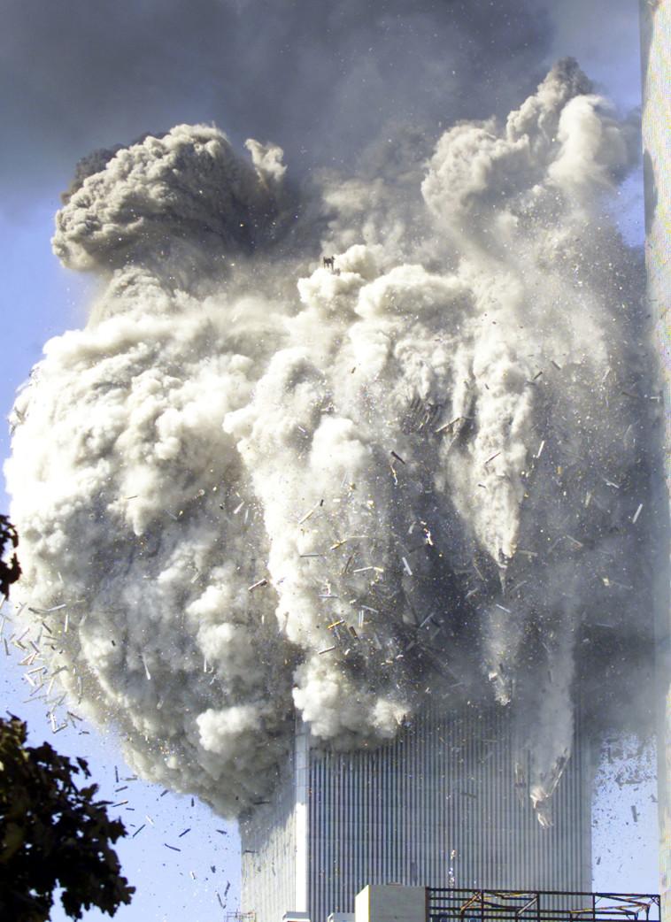 פיגוע התאומים ב-11 בספטמבר (צילום: רויטרס)