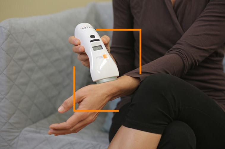 קל לתפעול ומקל על הכאב- מכשיר הבי קיור לייזר (צילום: יחצ)