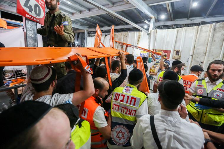 האירוע בהר מירון (צילום: דוד כהן, פלאש 90)