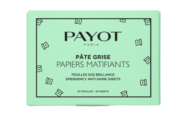 ניירות לספיחת שומן לעור מעורב עד שמן PAYOT ÂTE GRISE PAYOT, פאיו. מחיר: 15 שקלים. (צילום: יח''צ)